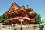 Chata Maměnka na Pustevnách v Beskydech; úterý 28. července 2020