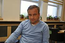 Starosta Francovy Lhoty Miroslav Brlica.