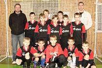 Družstvo starší přípravky Juřinky během turnaje ztratilo pouze dva body za jednu remízu a v dramatickém finále získalo prvenství.