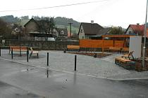 Novou a první náves dostanou v úterý do užívání obyvatelé Leskovce.