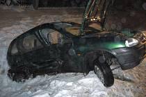 Na hlavním silničním tahu I/57 došlo k vážné dopravní nehodě mezi dvěma osobními vozy