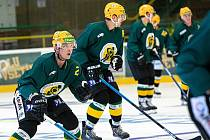 Vsetínští hokejisté v přípravě na novou sezonu. Ilustrační foto