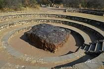 Hoba West: největší nalezený celistvý meteorit.