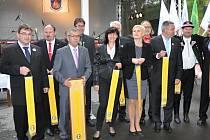 Slavnostní předání ceny Vesnice roku 2014 se uskutečnilo v pátek 3. října v Kateřinicích.