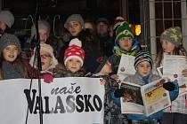 Česko zpívá koledy s Valašským deníkem. Ilustrační foto.