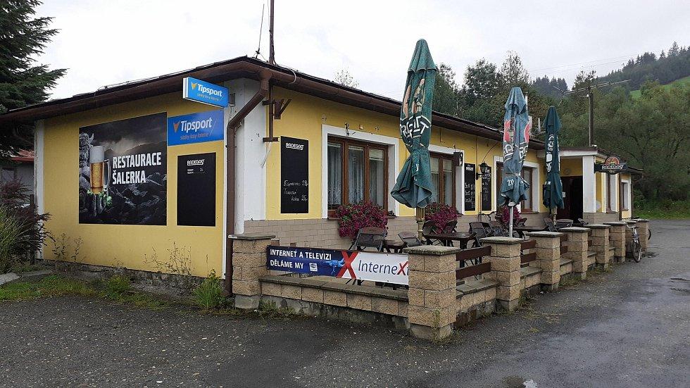 Halenkov - restaurace Šalerka.