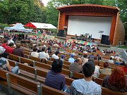 Amfiteatr v parku Kinskych. Ilustrační foto.