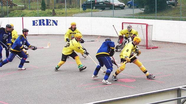 hokejbalisté Vsetína
