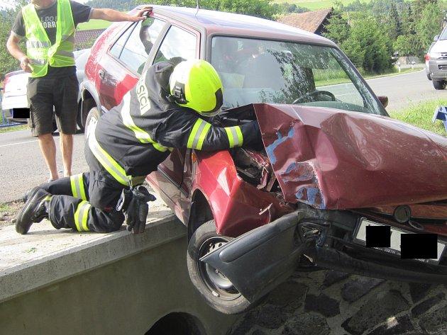 Nehoda v Liptále