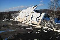 Silný vítr na Valašsku působil na Štědrý den škody na majetku.