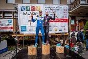 Běhej Valachy, podzim 2018: celkoví vítězové - Šťastný a Skřivánková