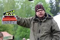 Natáčení televizního seriálu Doktor Martin ve skanzenu v Rožnově pod Radhoštěm.