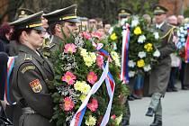 Tragické události, které se odehrály před dvaasedmdesáti lety, si připomněli v sobotu 22. dubna 2017 účastníci pietního aktu v obcí Prlov.
