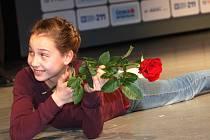 Slavnostní vyhlášení Sportovce roku 2015 v Domě kultury ve Vsetíně. Na snímku Alžběta Juříčková.