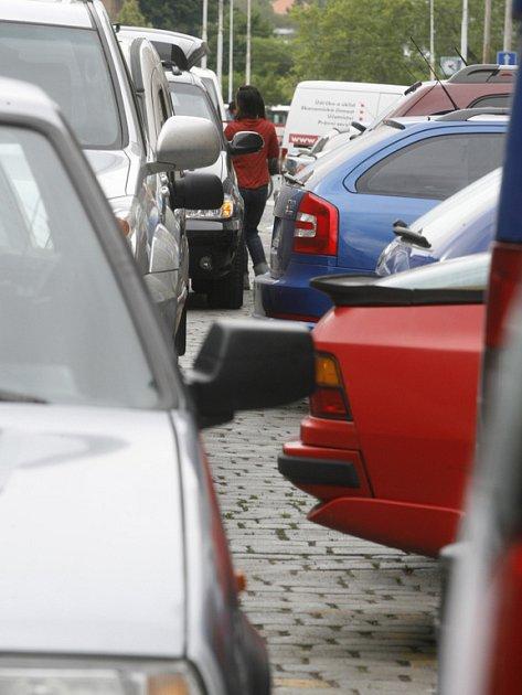 Vyhrazená parkoviště jen pro postižené řidiče