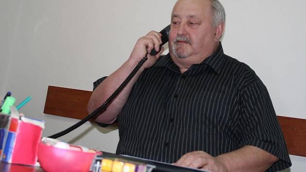 Policista Josef Stodůlka.