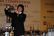 Medailistka z barmanského mistrovství světa Šárka Janová z Frenštátu pod Radhoštěm