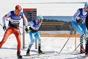 Karlovská padesátka 2019. Vítězem se stal po strhujícím finiši Stanislav  Řezáč (vlevo). cd8e5b7719