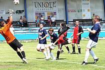 Fotbalisté Vsetína doma prohráli s Prlovem.