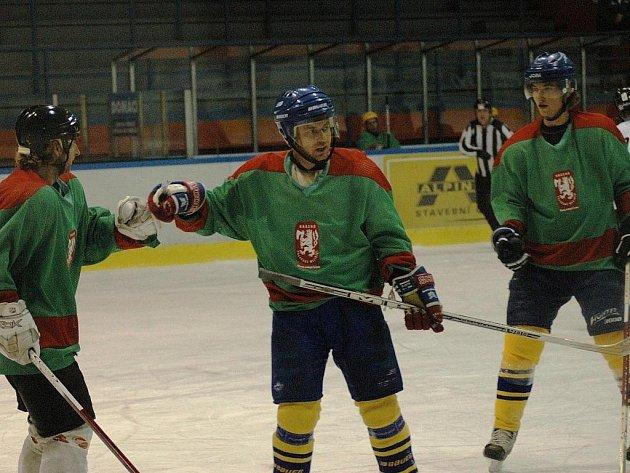 Extraliga amatérského hokeje – tým MO Krásno Valašské Meziříčí.