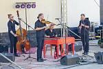 Čtvrtý ročník festivalu world music s názvem Andělská Bystřička se konal v sobotu 4. července 2020 v areálu letního kina v Bystřičce na Vsetínsku. Vystoupila také CM Radegast.