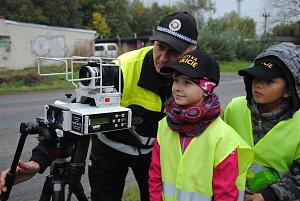 Děti z valašskomeziříčských škol kontrolovaly řidiče