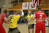 Házenkáři Zubří slaví postup do čtvrtfinále Evropského poháru.