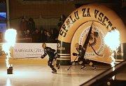 hokej ROBE Vsetín - Jestřábi Prostějov
