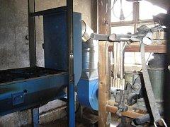 V technologiích odsávání a filtrací dílny stavební školy došlo k požáru