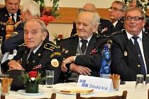 Setkání zasloužilých hasičů Zlínského kraje v Kulturním domě v Hovězí na Vsetínsku