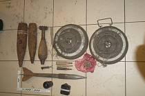 Muž přinesl na policii ostré granáty