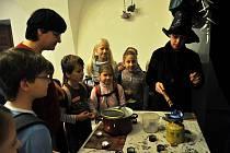 Pracovníci Střediska volného času Alcedo ve Vsetíně uspořádali pro děti vánoční dílny na vsetínském zámku. Akce se konala od 12. do 14. prosince