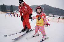 Resort Valachy - škola lyžování.