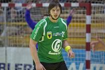 Pětadvacetiletý házenkář Robe Zubří Adam Reček v pětadvacet letech ukončil hráčskou kariéru.