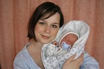 Renata Nováková a syn Maxmilián, 47 cm, 2750 g, 17. 1. 2011