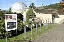 Vizualizace budoucí podoby modelu Sluneční soustavy, kterou připravují pracovníci Hvězdárny Vsetín.