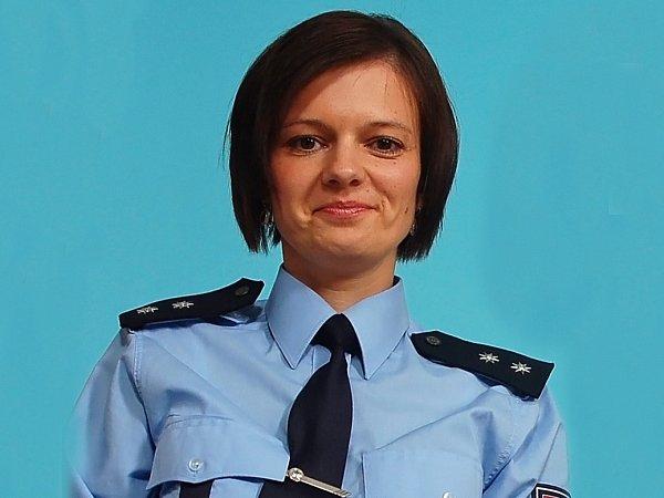 Lenka Javorková, mluvčí Policie ČR ve Vsetíně