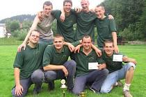Družstvo mužů ze Seninky se zúčastňuje soutěží s velmi dobrými výsledky.