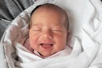 Valerie Moravcová, Dolní Bečva, narozena 11. dubna 2021 ve Valašském Meziříčí, míra 50 cm, váha 3700 g
