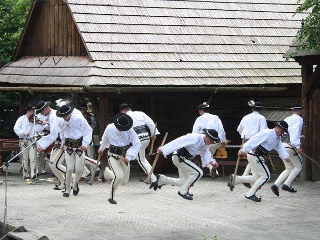 Rožnovské slavnosti 2011. Ilustrační foto.
