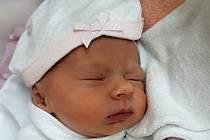Gabriela Smékalová, Valašské Meziříčí, narozena 30. června  2021 ve Valašském Meziříčí, míra 47 cm, váha 2340 g