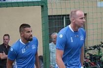 Zkušený stoper René Bolf nastoupil za Vigantice hlavně kvůli kamarádovi Milanu Barošovi.
