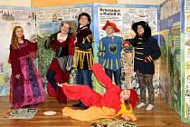 Ve valašskomeziříčské Vrtuli - světě her a poznání pro děti je od začátku listopadu 2017 k vidění výstava obřího leporela výtvarnice a spisovatelky Lucie Seifertové.