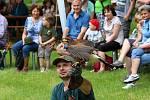 Program Lovu zdar! věnovaný myslivosti přilákal v sobotu 8. června 2019 k zámku Lešná u Valašského Meziříčí na pět stovek návštěvníků.