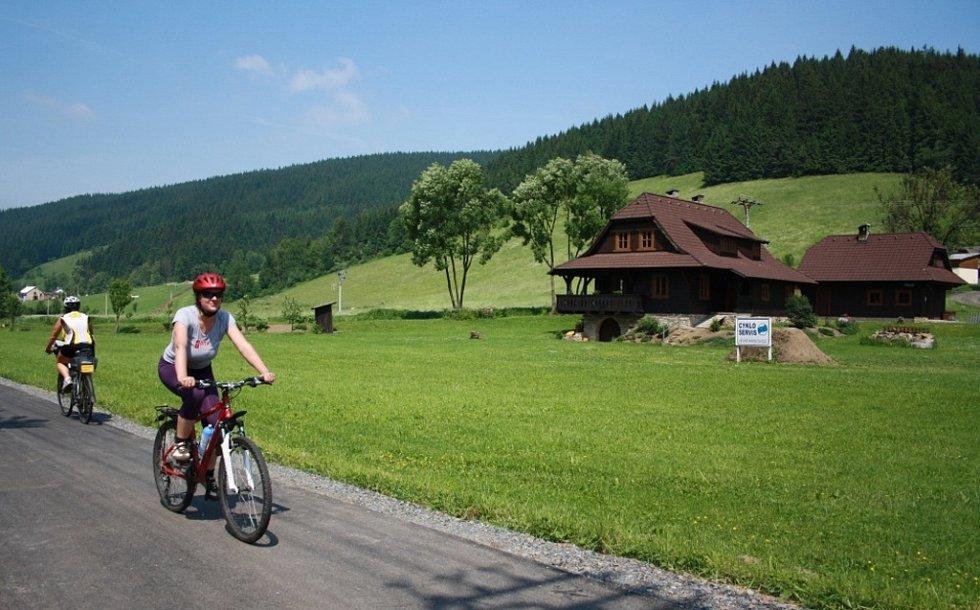 Cyklostezka Bečva.