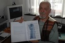 Jaroslav Bártek z Horní Bečvy se v téměř dvaaosmdesáti letech dočkal vydání své rozsáhlé kroniky