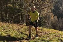 Tomáš Štverák ze Zubří vyběhl 29 krát na Radhošť