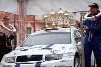 Vítězem letošní Valašky se stala posádka Karel Trněný - Pavol Kušnier