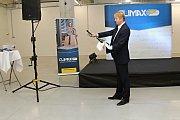 Vsetínská firma Servis Climax slavnostně otevřela ve čtvrtek 22. listopadu 2018 novou výrobní halu.