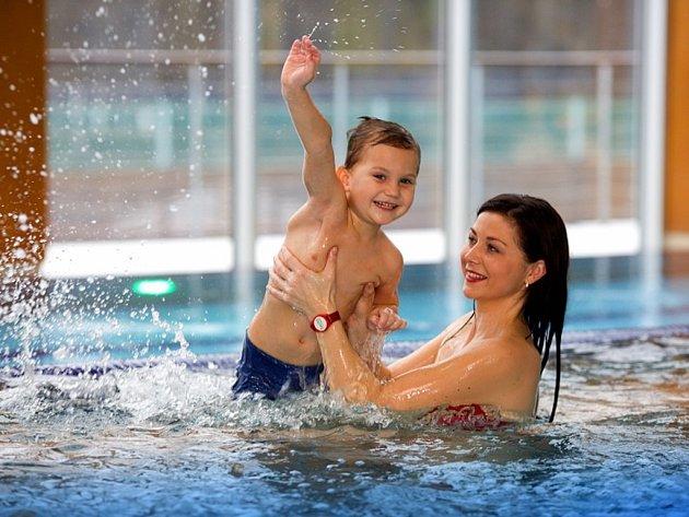 Termální bazény ve Wellness hotelu Horal.